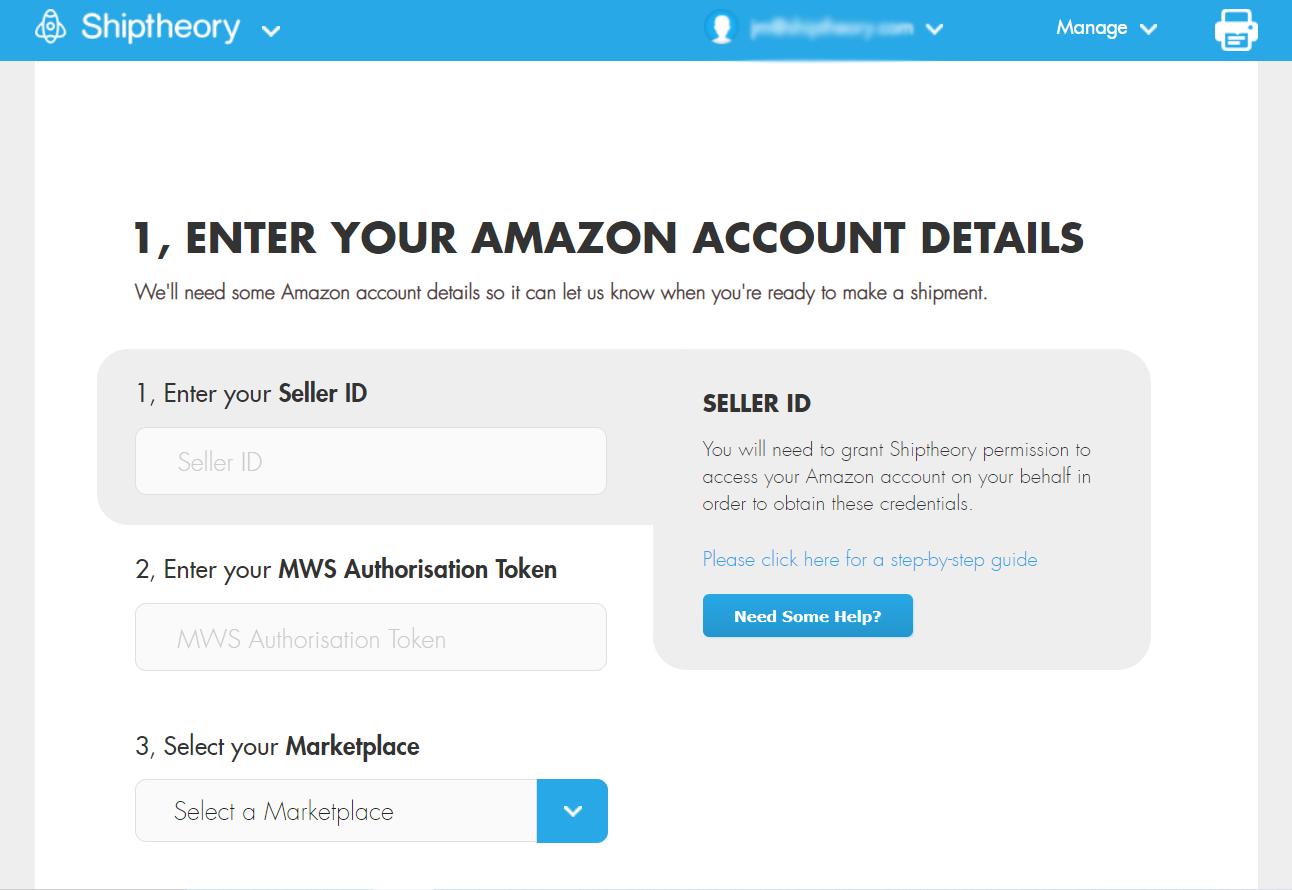 Amazon Account Details