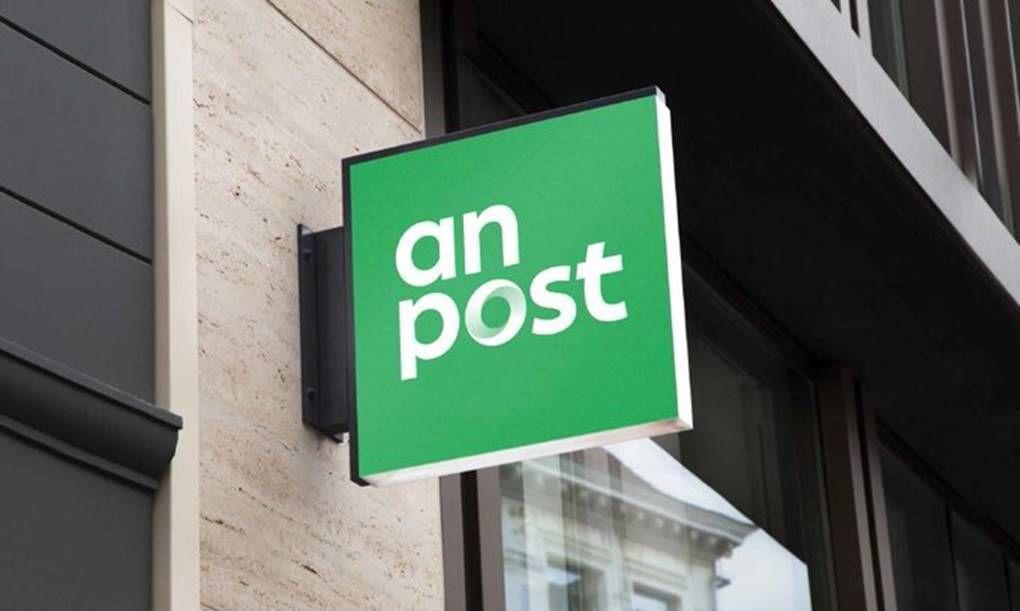 An Post sign