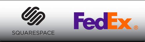 Squarespace Fed Ex