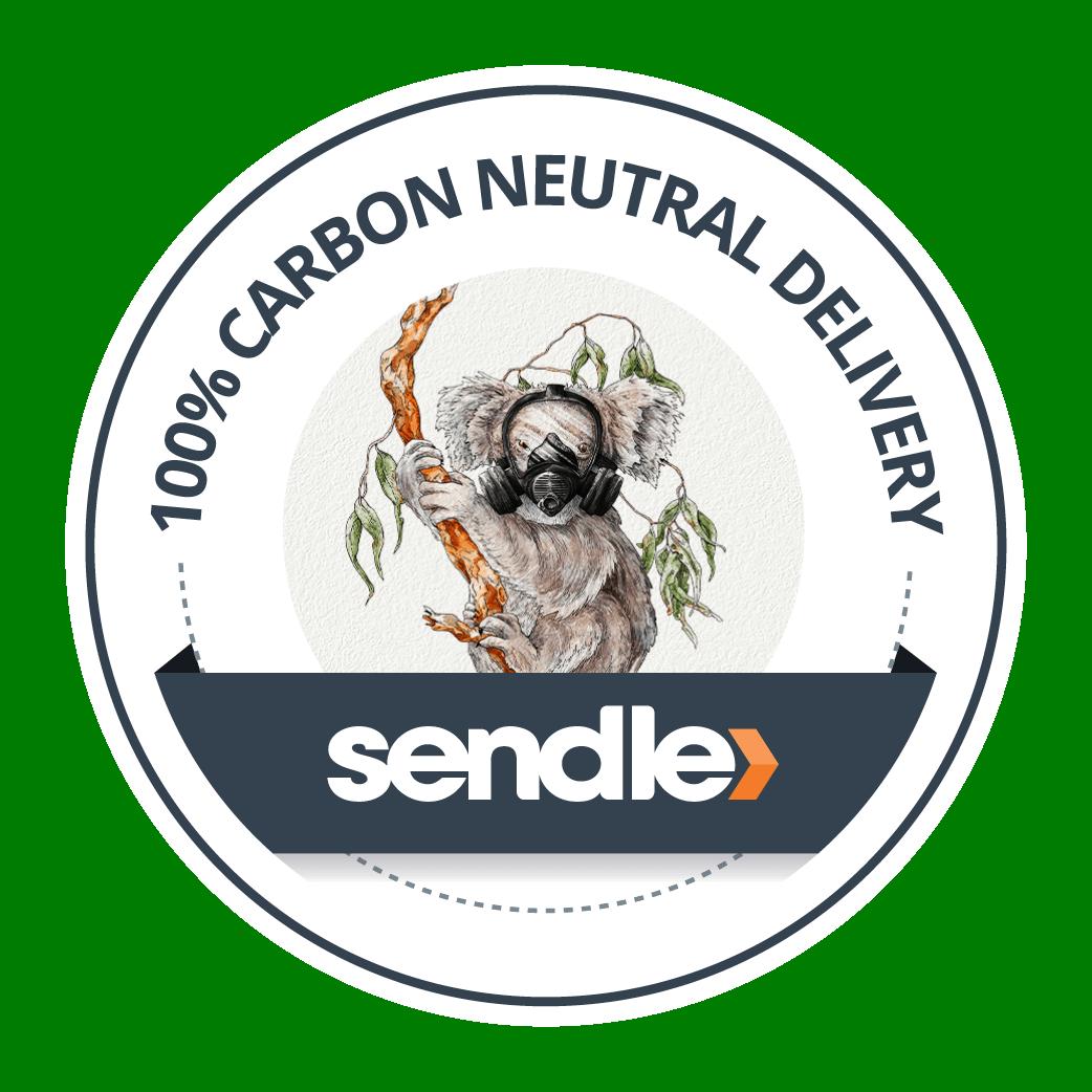 Sendle carbon neutral offset sticker koala 2x